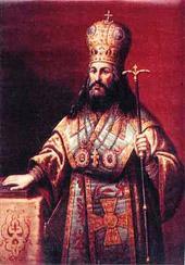 Поставление Никона на патриаршество