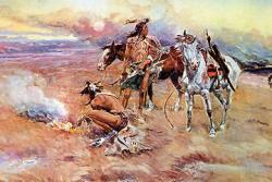 Похоронный обряд у индейцев Северной Америки
